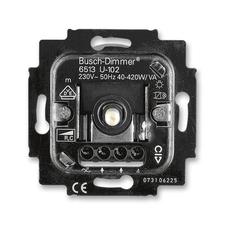 Přístroj stmívače 6513 U pro otočné ovládání a tlačítkové spínání