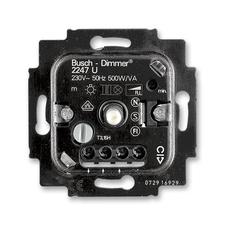 Přístroj stmívače 2247 U pro otočné ovládání a tlačítkové spínání