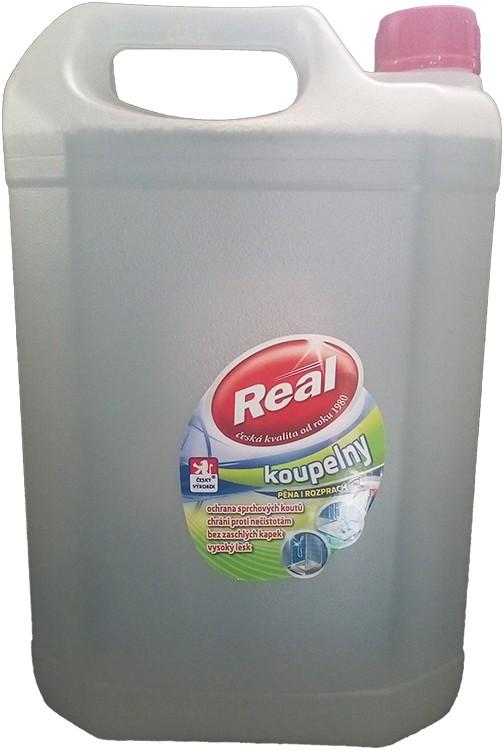 Čistící prostředek REAL koupelny 5 kg, cena za ks