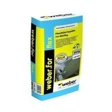 Mrazuvzdorný jednosložkový tmel Weber.for flex C2TS1, 25 kg