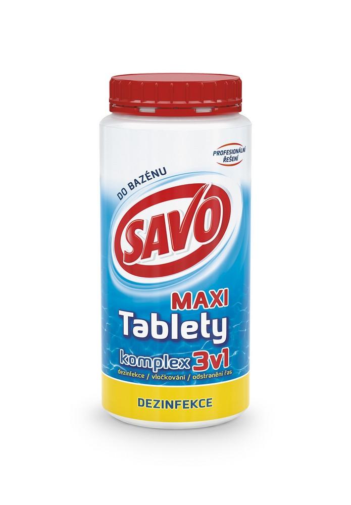 SAVO chlorové tablety maxi komplex 3v1 1,4 kg, cena za ks