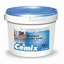 Nátěr fasádní akrylátový Cemix bezpř., 24 kg 24 kg