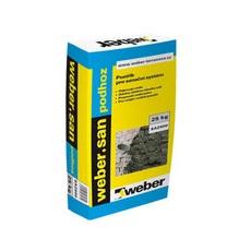 Sanační podhoz pod sanační omítky Weber san podhoz WEBER balení 25kg