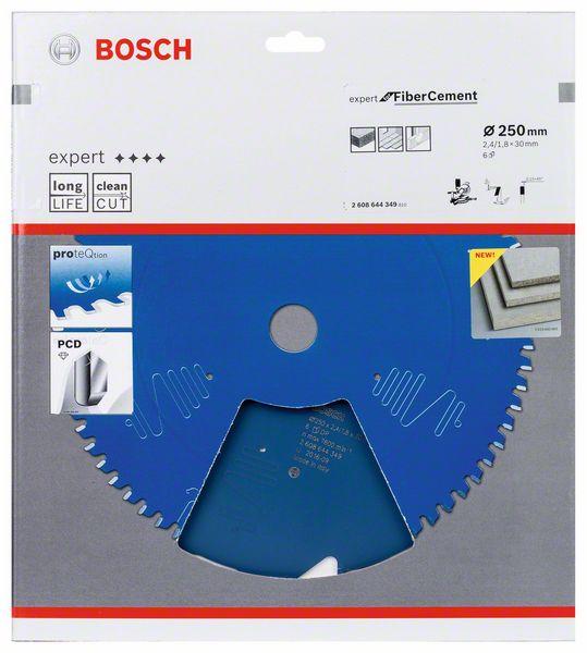 Kotouč pilový Bosch Expert for Fiber Cement 250×30×1,8 mm 6 z.