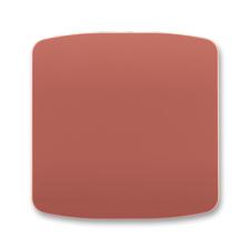 Kryt stmívače s krátkocestným ovladačem Tango vřesová červená