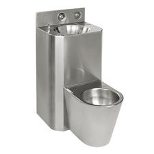 WC s umyvadlem rovný Sanela SLWN 28, WC na zemi