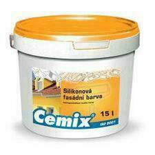 Nátěr fasádní silikonový Cemix bezpř., 24 kg 24 kg