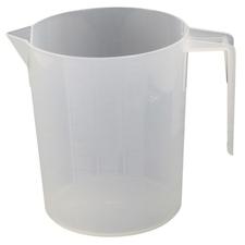 Nádoba plastová odměrná Berdal Gripline 1 l