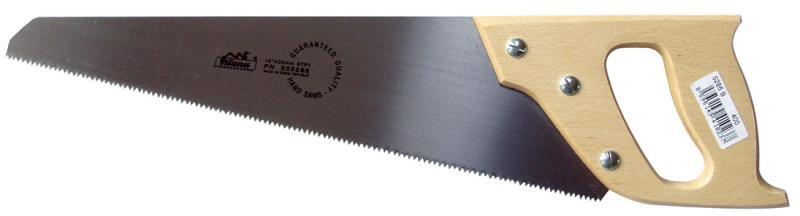 Pila ocaska s dřevěnou rukojetí 400 mm