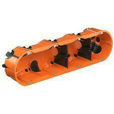 Krabice přístrojová do sádrokartonu KAISER O-range ECON 64/4
