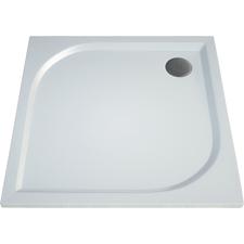 Čtvercová sprchová vanička TRACY 900×900×30 mm, litý mramor