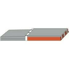 HELUZ balkonový panel 5400x1200x230 mm