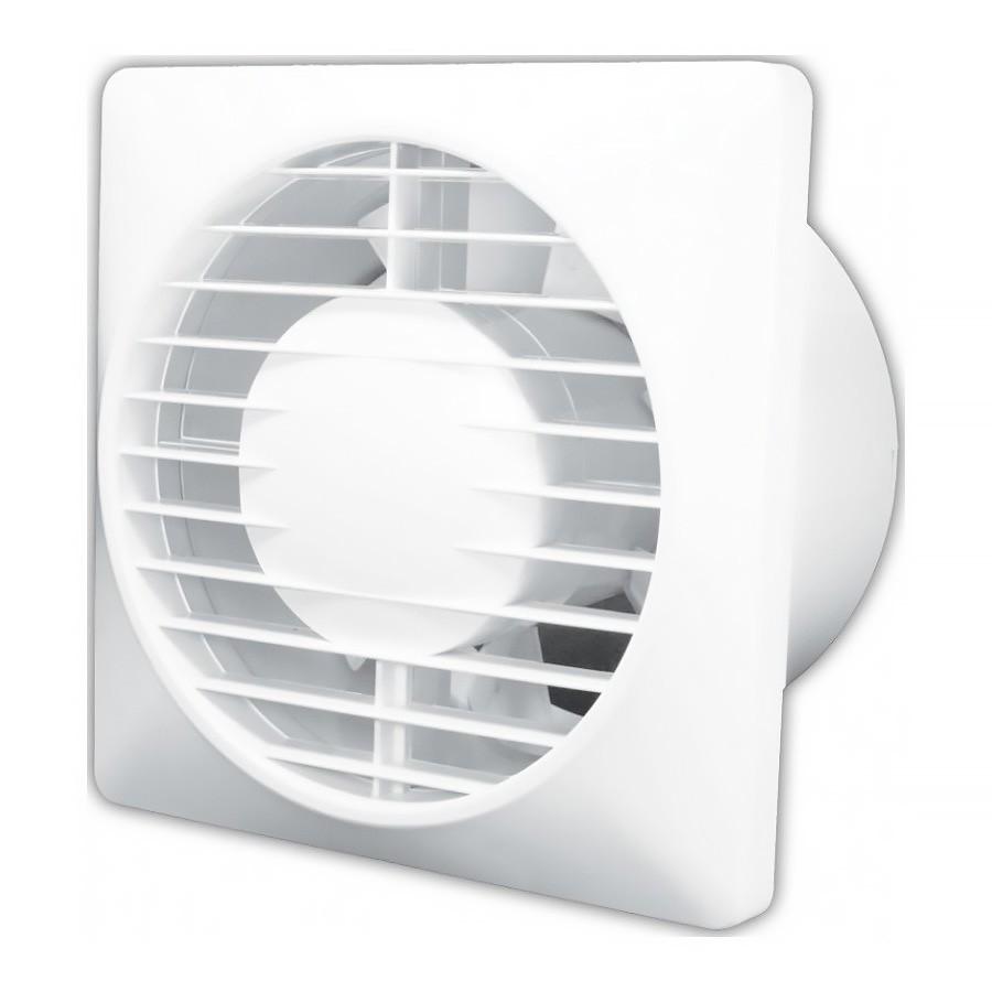 Ventilátor domovní Klimatom Solo 100 T, 12 W, 230 V, IP 44