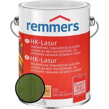 Lazura na dřevo Remmers HK Lasur tannengrün 2,5 l