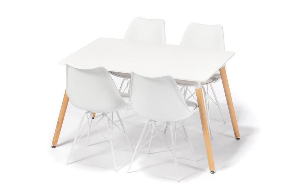 Jídelní set LINNEA L120 II (4x židle, 1x stůl), cena za ks