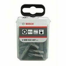 Bit šroubovací Bosch Extra-Hart PZ2 25 mm 25 ks