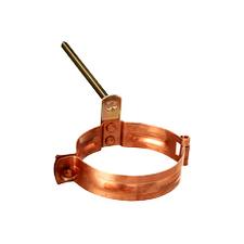 Objímka svodu s trnem Cu Zambelli průměr 80 mm