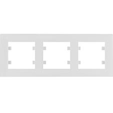 Rámeček vodorovný Hager lumina INTENSE, bílá
