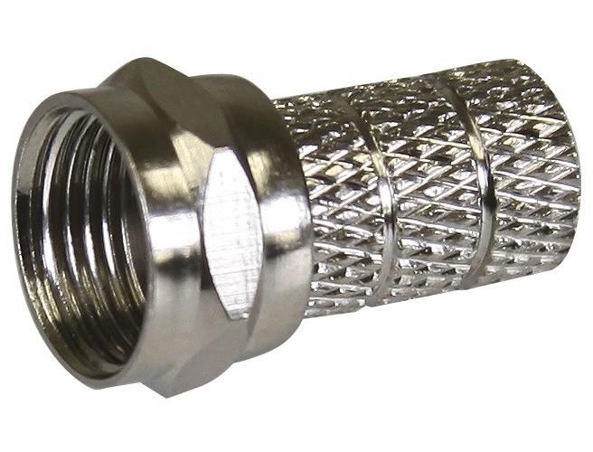 Konektor F vidlice pro koaxiální kabel CB500 (10ks/bal)