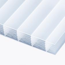 Polykarbonátová dutinková deska MULTICLEAR 16 BOX 7W opál s UV ochranou 2100×7000mm