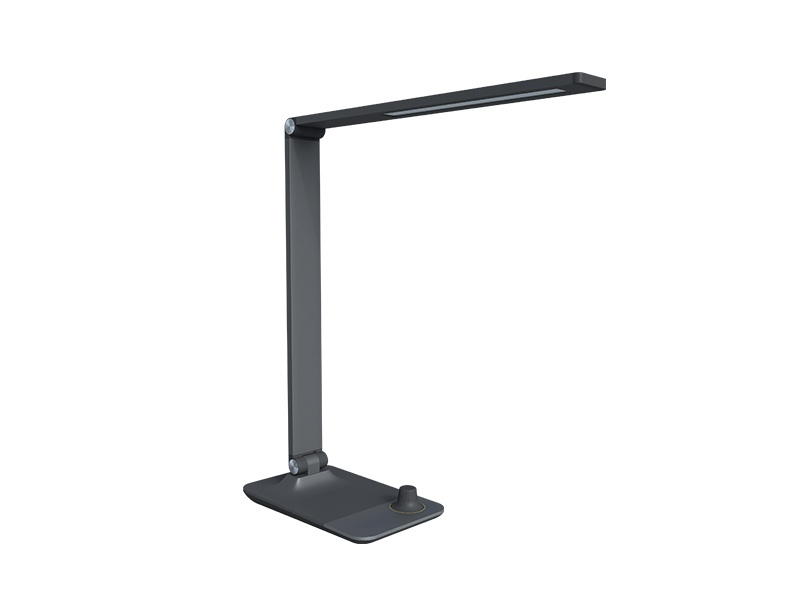 Stolní LED lampa MASTER, 3000-5000K, šedá