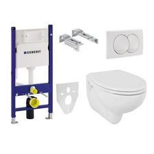 Set 5v1 pro závěsné WC Geberit Duofix 111.154.11.1 EV0