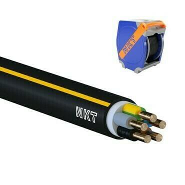 Kabel CYKY-J 5× 2,5 RE (300 m/Qaddy box)