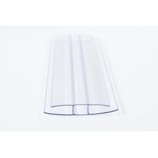 Polykarbonátový profil spojovací tvaru H rozteč 6mm délka 6m