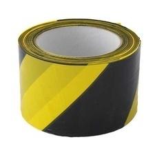 Páska výstražná 70 mm/200m žluto-černá