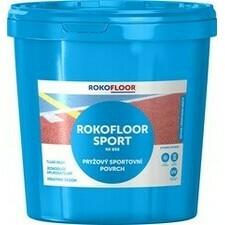 Povrch sportovní Rokofloor Sport modrý, 12 kg/bal.