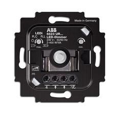 Přístroj stmívače pro regulovatelné LED žárovky, pro otočné ovládání a tlačítkové spínání