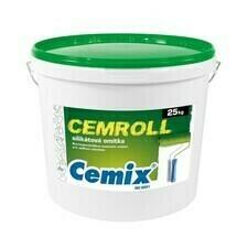 Nátěr strukturální Cemix Cemroll silikát bezpř., 25 kg