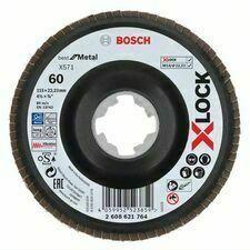 Kotouč brusný lamelový Bosch X571 Best for Metal X-LOCK 115×22,23 mm 60 10 ks