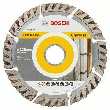 Kotouč řezný diamantový Bosch Standard for Universal 125×22,23×2×10 mm