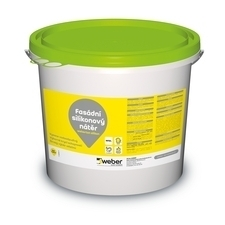 Barva fasádní weberton silikon bílá 25 kg