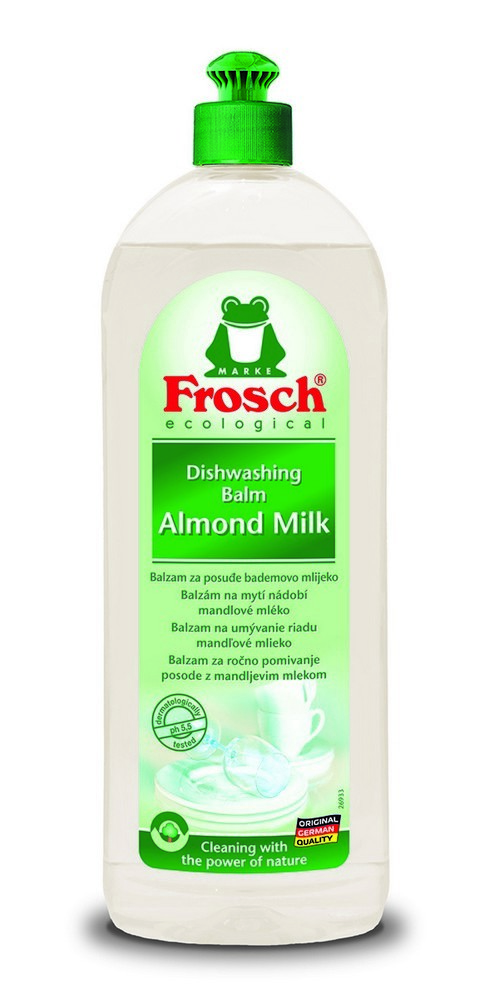 Balzám na mytí nádobí FROSCH EKO Mandlové mléko 750 ml, cena za ks