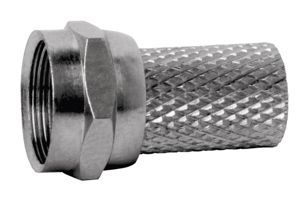 Konektor F vidlice pro koaxiální kabel CB113 (10ks/bal)