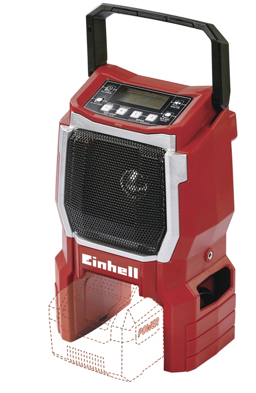 Rádio aku Einhell TE-CR 18 Li (bez baterie) Expert Plus