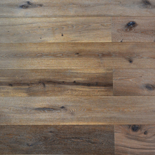Podlaha dřevěná EkoWood Rustikal kouř. bílý, 192×1 820×13,5 mm