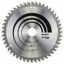 Kotouč pilový Bosch Optiline Wood 216×30×1,8 mm 48 z.