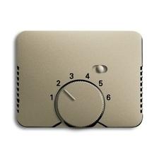 Kryt termostatu s otočným ovladačem Alpha palladium