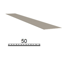 Pásek z poplastovaného plechu Viplanyl r.š. 50 mm