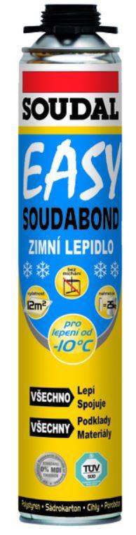 Pěna montážní zimní Soudabond Easy 750 ml