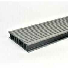 Prkno terasové dřevoplastové Twinson Terrace odstín kámen 140x28×4000 mm