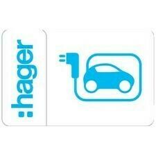 Sada přístupových karet RFID, Hager XEV308