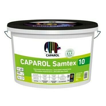 Barva vinylová Caparol Samtex 10 bílý, 10 l