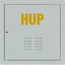 Dvířka revizní HUP M&D 400×400 mm RAL 9016