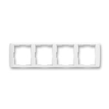 Rámeček čtyřnásobný vodorovný Element bílá