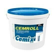 Nátěr strukturální Cemix Cemroll akrylát bezpř., 25 kg