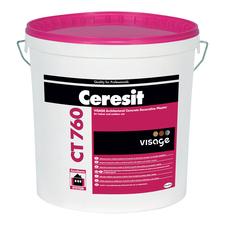 Designová omítka Ceresit CT 760 VISAGE pohledový beton, odstín Chicago grey 25 kg